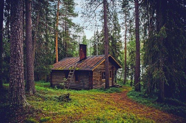 Desain rumah minimalis di tengah desa