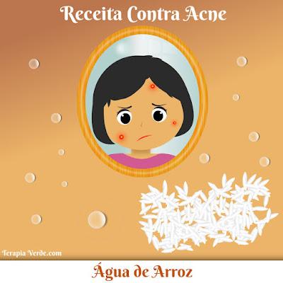 Receita Contra Acne: Água de Arroz