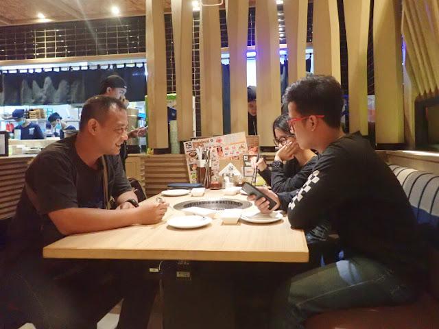 makan di gyu kaku, review resto gyu kaku