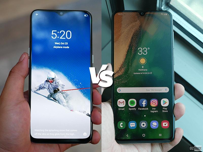 Realme XT vs Samsung Galaxy A70 Specs Comparison