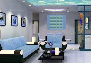 Modern Aqua Room Escape