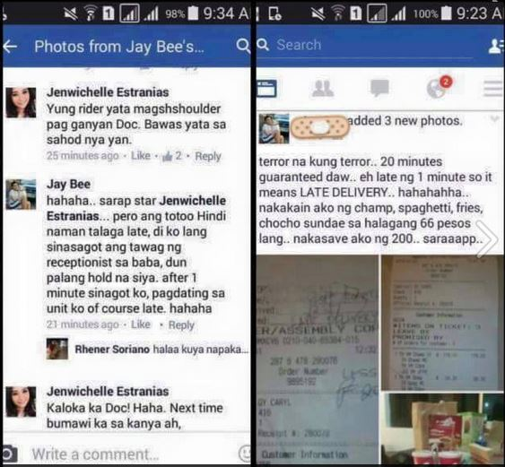 Jaybee conversation Facebook