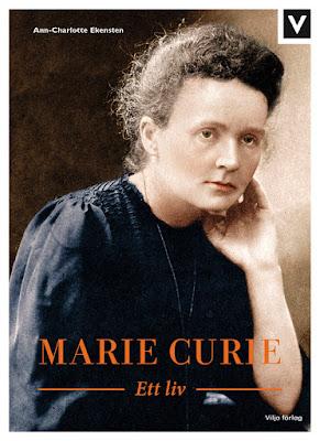 Marie Curie, bokomslag