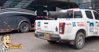 Venezolano llegó cadáver a Bogotá dentro del autobús en el que emigraba