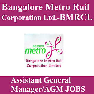 Bangalore Metro Rail Corporation Limited, BMRCL, BMRC, Karnataka, Metro Rail, General Manager, AGM, Graduation, freejobalert, Sarkari Naukri, Latest Jobs, bmrc logo