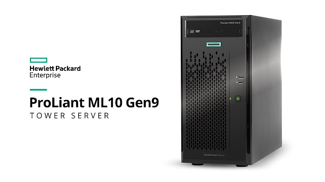 HPE Proliant ML10 Gen9 Server: The Right Choice for Your First Server