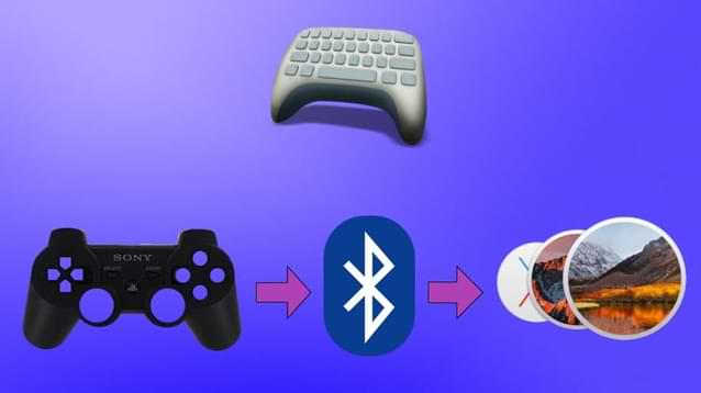Connect ps3 controller to Mac with Joystick Mapper