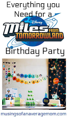 Miles from tomorrowland birthday party