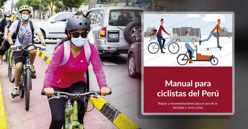 ¿TE TRANSPORTAS EN BICICLETA? conoce el manual para ciclistas del Perú