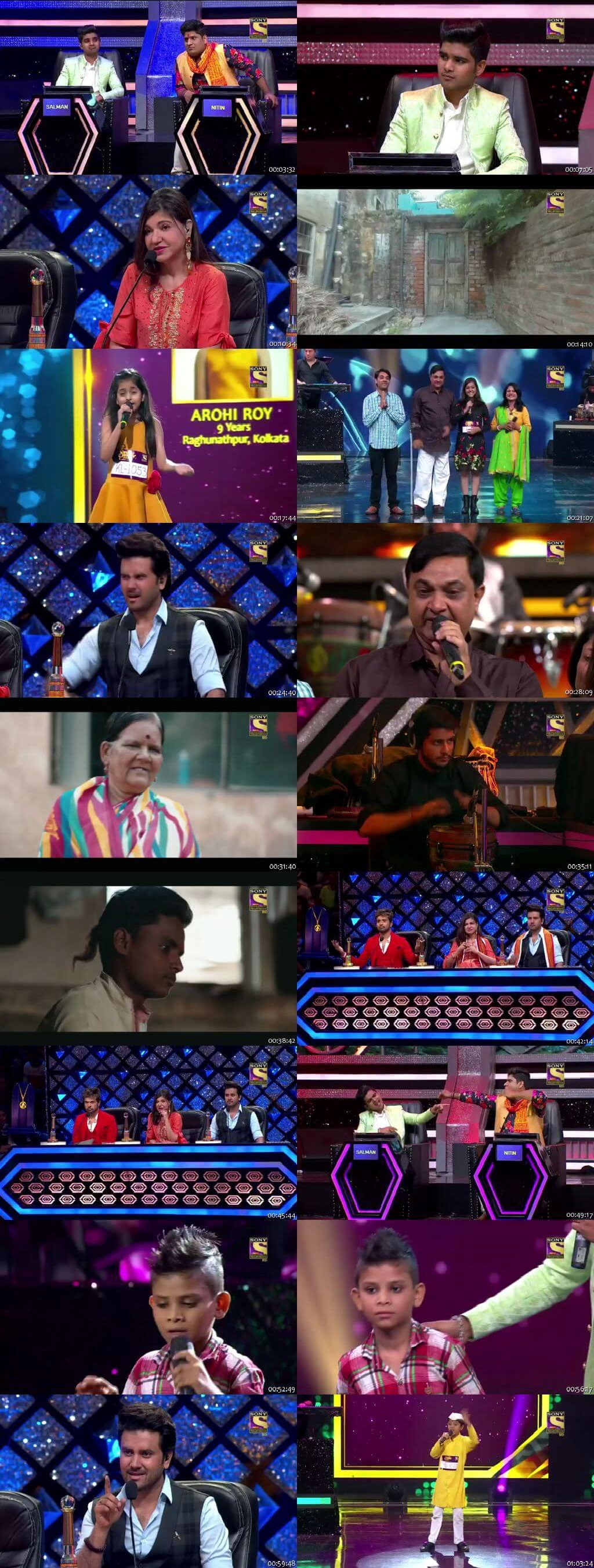 Screenshots Of Hindi Show Superstar Singer 13th July 2019 Episode 05 300MB 480P HD