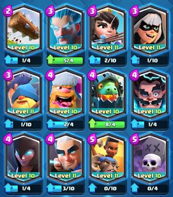 Kartu Legendary Clash Royale