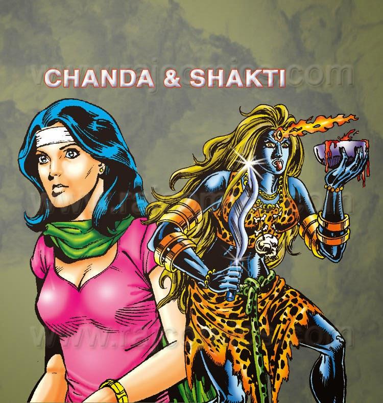 Chanda and Shakti Raj Comics