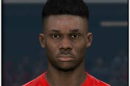 Alphonso Davies Face (Bayern Munchen) - PES 2017