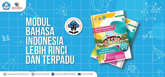 modul bahasa dan sastra indonesia smp terbuka kelas 7 8 9 vii viii ix pdf tomatalikuang.com