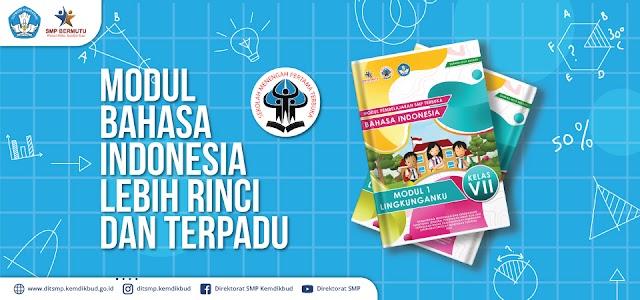 Modul Bahasa dan Sastra Indonesia SMP Terbuka Kelas 7, 8, dan 9 PDF