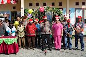 Satgas Binmas Noken Polri dan Polres Mimika Resmikan Pondok Polisi Pi Ajar di Kwamki Narama