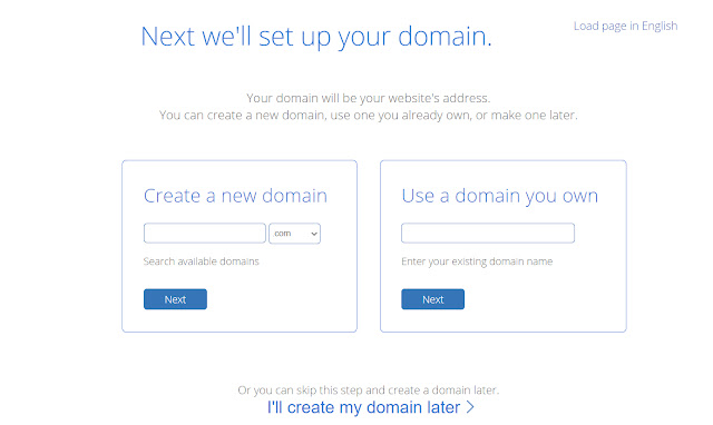 Domain setup in bluehost