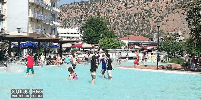 Αργολίδα: Με μπουγέλα και βουτιές έληξε η σχολική χρονιά στο Άργος