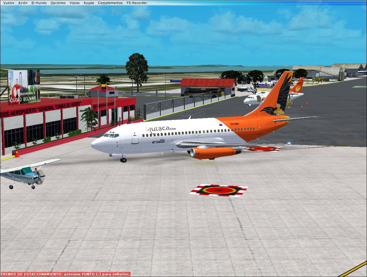 FS9/FSX] Aerosim Boeing 737-200 YV1381 Rutaca Airlines