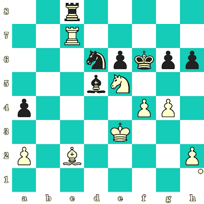 Les Blancs jouent et matent en 2 coups - Anatoly Karpov vs Bidjukova, Voronezh, 1997