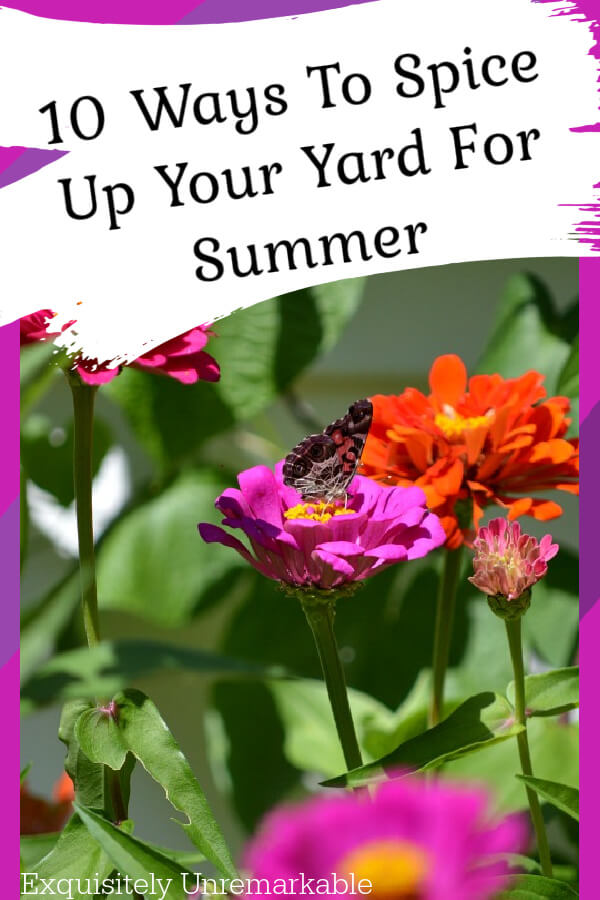 Ten Ways To Spice Up Your Yard For Summer