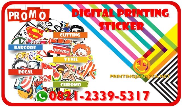 Jasa desain dan cetak stiker di Jakarta , Tempat Pembuatan Stiker Jakarta Timur , Harga Cetak Stiker Jakarta Timur