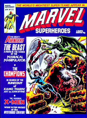 Marvel Superheroes #372, the Champions