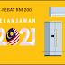 TERKINI: E-Rebat RM 200 Untuk Isi Rumah Beli Alat Pendingin Hawa Atau Peti Sejuk