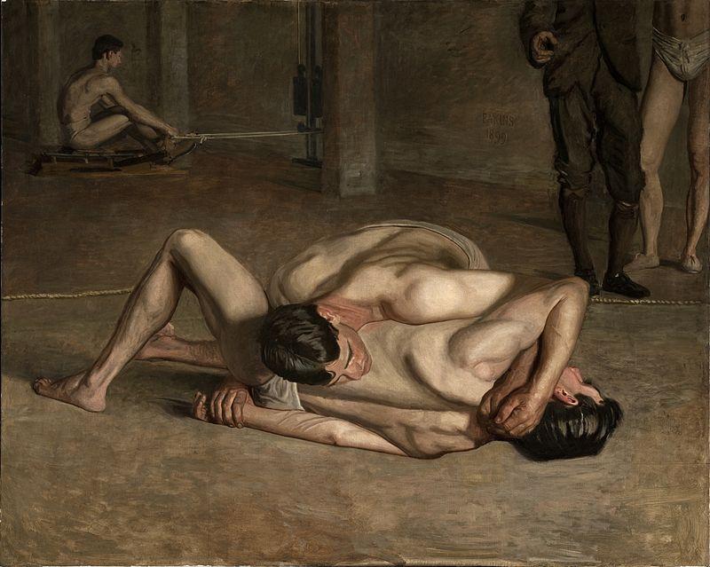 [Image: 800px-Eakins%252C_Thomas_-_Wrestlers_1899.jpg]