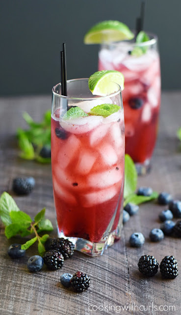 berry mojito cocktail recipe