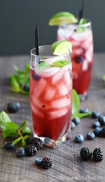 berry mojito cocktail recipe