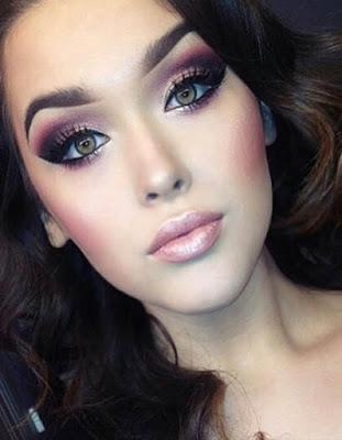 maquillaje tumblr de noche natural