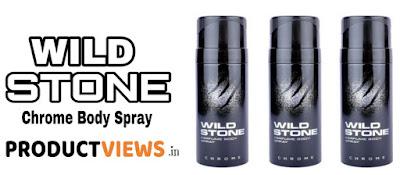 WWW.PRODUCTVIEWS.IN, वाइल्ड स्टोन क्रोम बॉडी स्प्रे रिव्यु   Wild Stone Chrome Body Spray Review