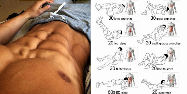 6 Pack Abs - 6 New Exercises