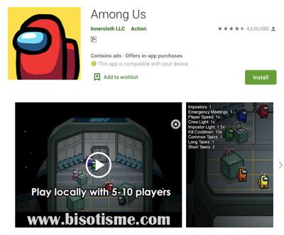 Among Us 5 Game Android Terbaik dan Terpopuler Untuk Gamers Indonesia