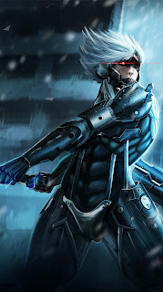 Metal Gear Rising Revengeance Cartoon Mobile HD Wallpaper