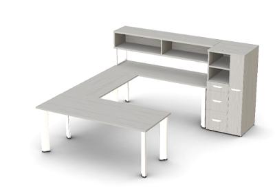 friant dash u shaped desk