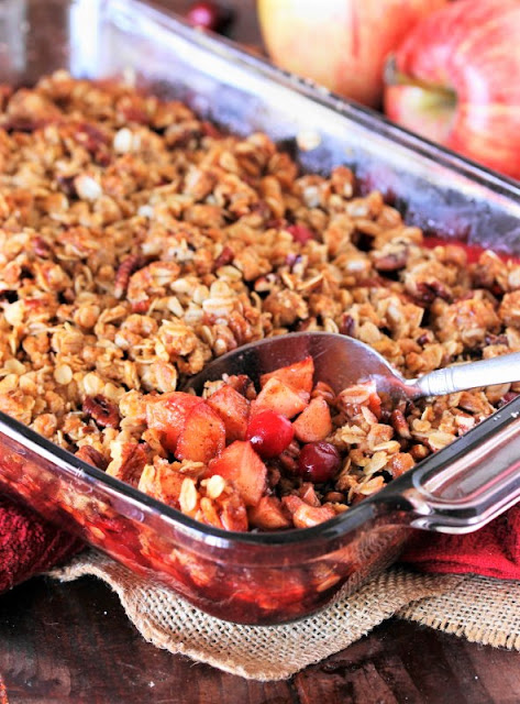 Apple Crisp with Cranberries Image