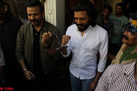 Vivek Oberoi and Riteish Deshmukh Promoting Their movie Bank Chor~  Exclusive 27.JPG