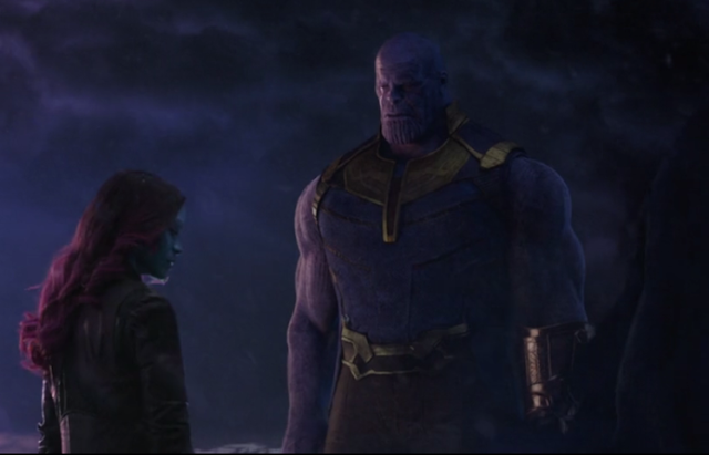 Scared Thanos in Marvel(Soul)