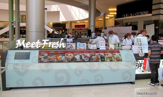The Meet Fresh outlet at Pavilion packed with dessert lovers