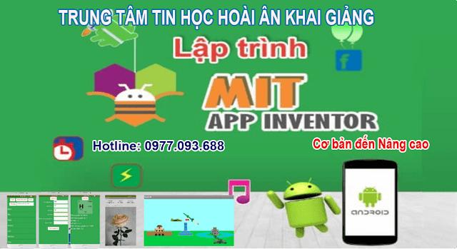 Lập trình ứng dụng di dộng với App Inventor