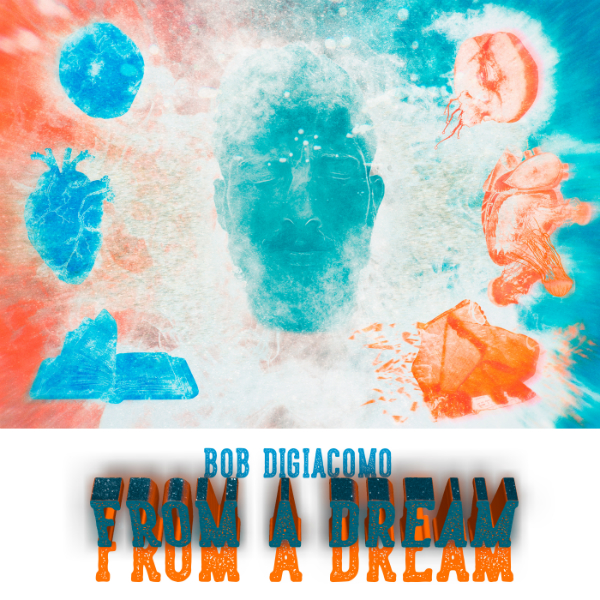 Illustration for the Bob Digiacomo's Music Album From a Dream by Pablo Lara H