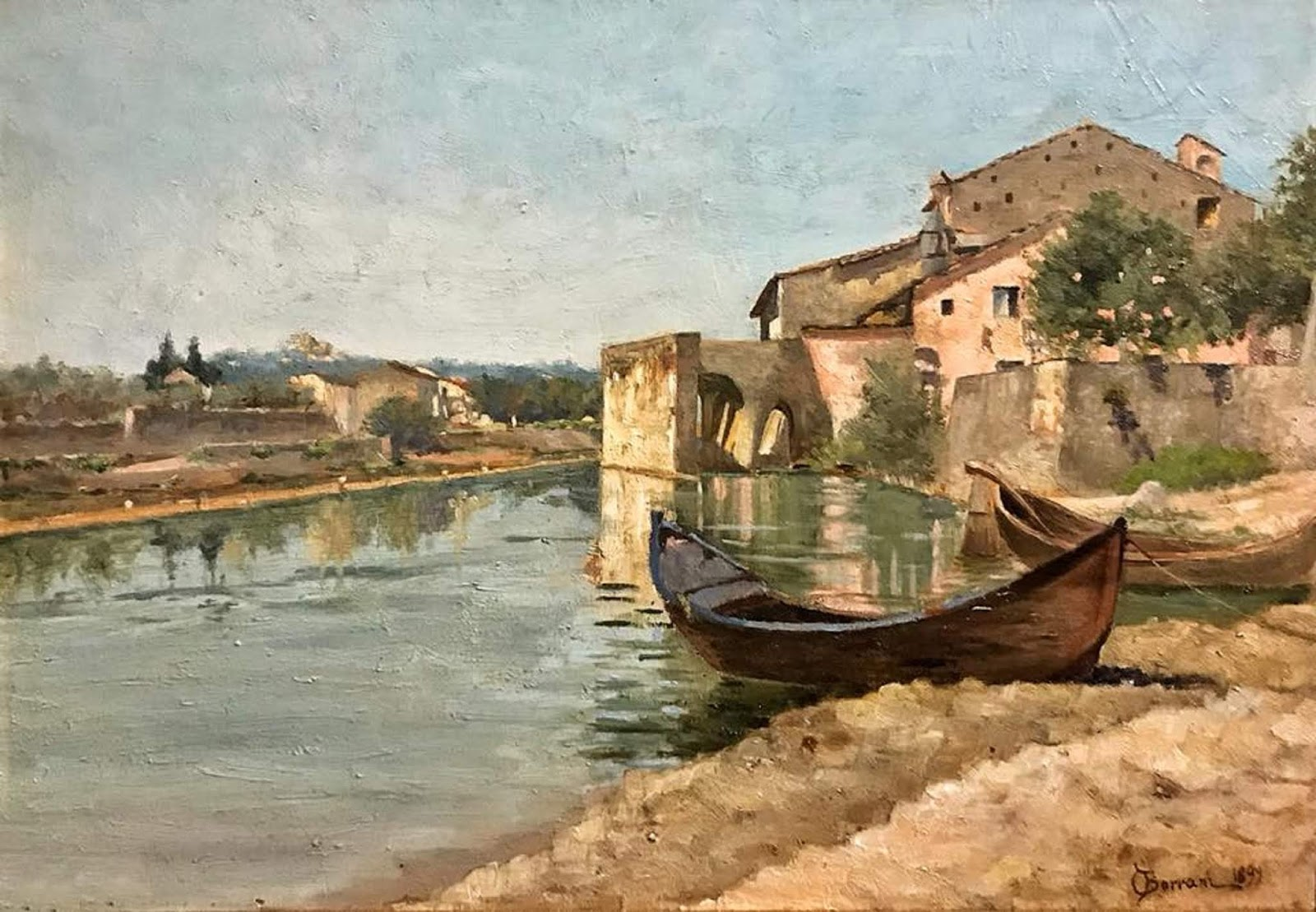 Paintings by Odoardo Borrani (1833-1905)