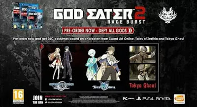 Game Anime Untuk PC God Eater 2: Rage Burst
