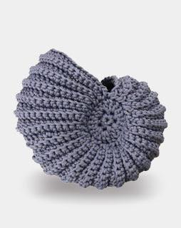 conchiglia, uncinetto, amigurumi, ammonite