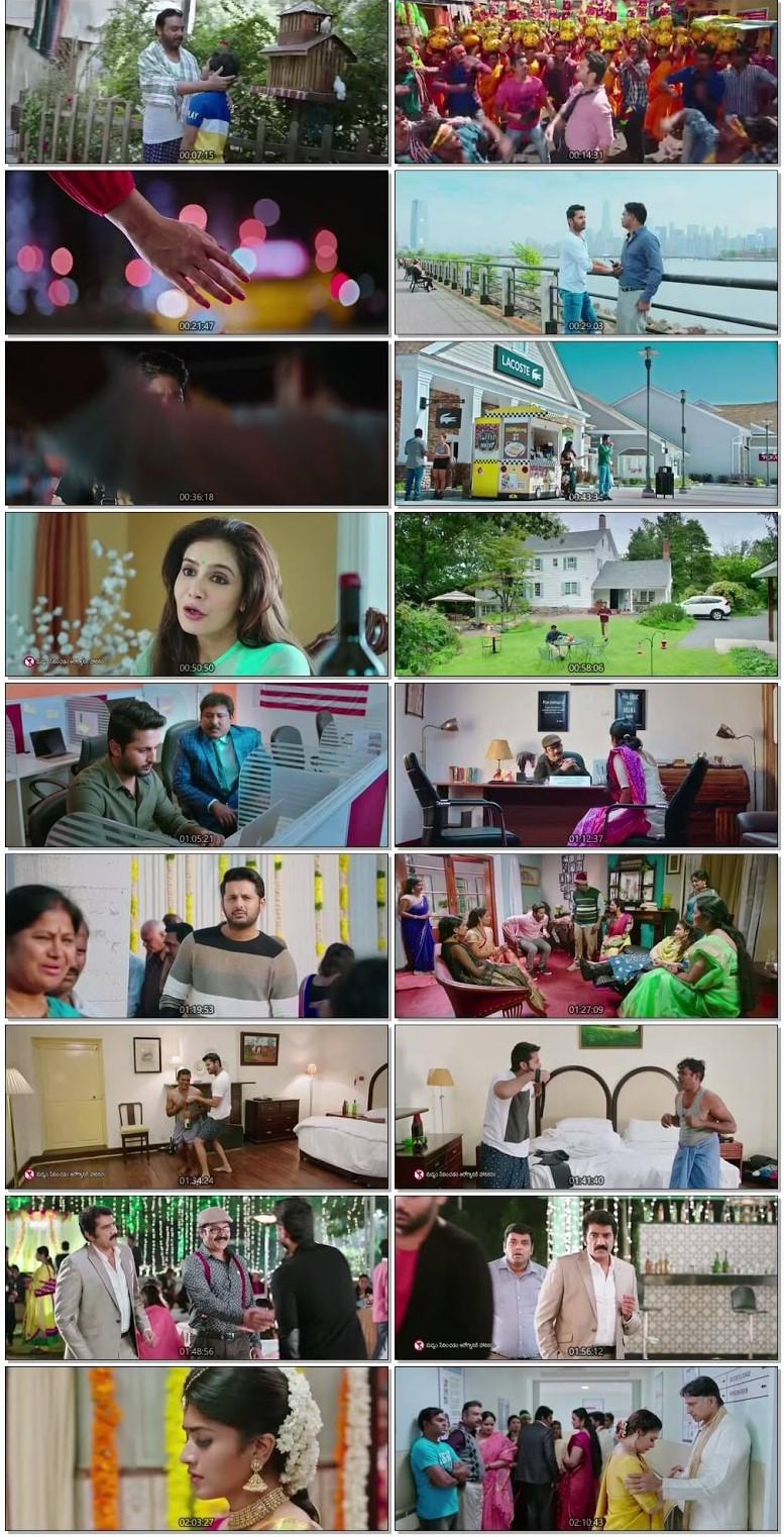 Screen Shots Chal Mohan Ranga 2018 Hindi Dubbed HD 720p