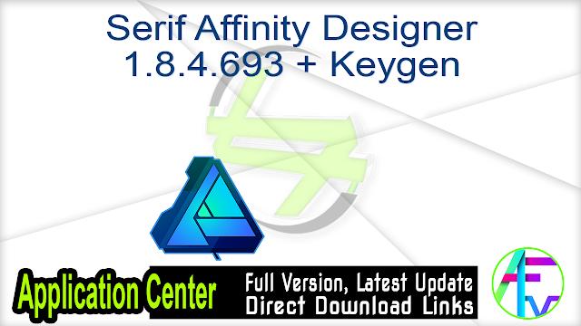 Serif Affinity Designer 1.8.4.693 + Keygen