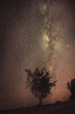 Milky way di langit Puru Kambera