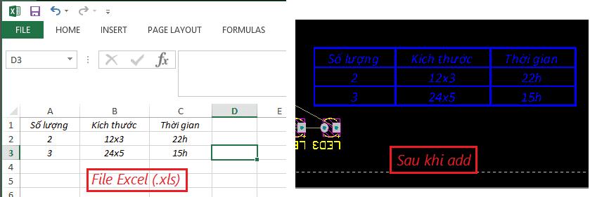 Nhúng hình ảnh, chữ vào PCB dùng OLE 2